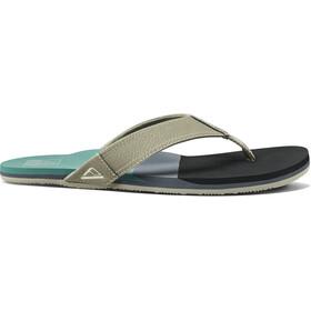 Reef Tri Newport Sandals Men, black/green